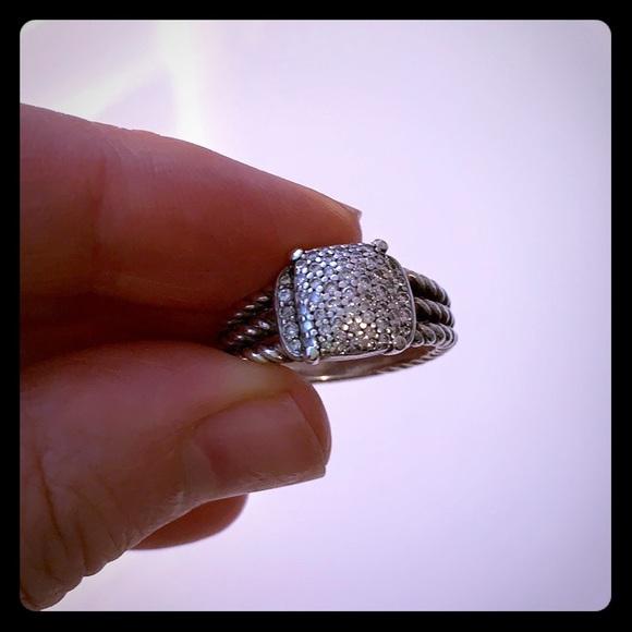 David Yurman Jewelry David Yurman Petite Wheaten Diamond Ring Price Fir Poshmark